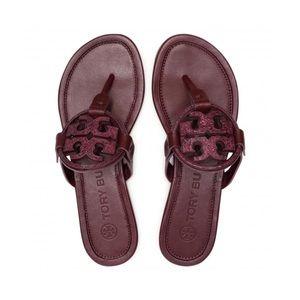 ☀️NWT☀️TORY BURCH Embellished Miller Sandal 7